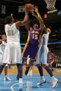 Ron Artest vs. Nuggets - 11.11.10
