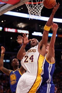Kobe Bryant vs. Warriors - 10.31.10