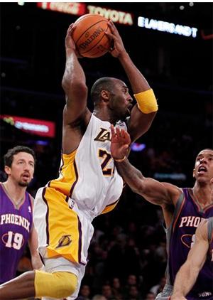 Kobe Bryant vs. Suns - 11.14.10
