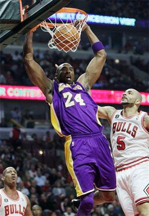 Kobe Bryant vs. Bulls - 12.10.10