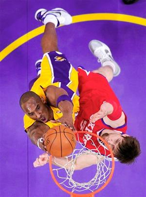 Kobe Bryant vs. 76ers - 12.31.10