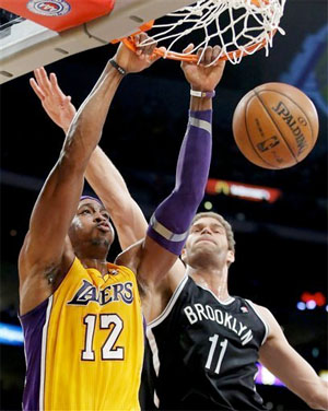 Dwight Howard vs. Brooklyn - 11.20.12