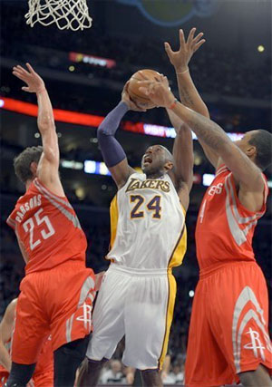 Kobe Bryant vs. Houston - 11.18.12