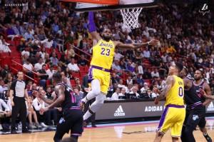 Lakers @ Heat - 11.18.18