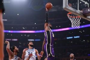 Lakers vs. Timberwolves  - 11.07.18