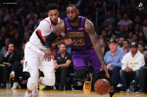 Lakers vs. Blazers  - 11.14.18