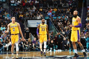Lakers @ Hornets - 12.15.18