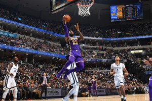 Lakers @ Grizzlies - 12.08.18