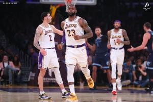 Lakers vs. Grizzlies - 12.23.18