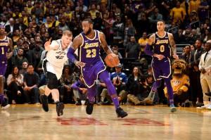 Lakers vs. Spurs - 12.05.18