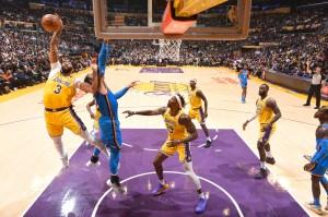 Lakers vs. Thunder - 11.19.19