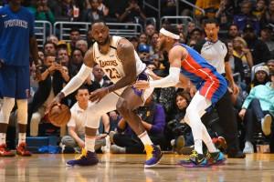 Lakers vs. Pistons - 01.05.20