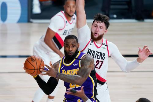 Lakers @ Trail Blazers - 08.22.20