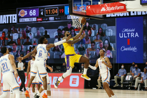 Lakers vs. Thunder - 08.05.20