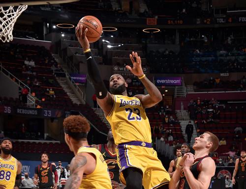 Lakers @ Cavaliers - 01.25.21