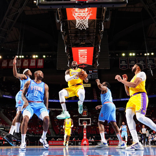 Lakers @ Rockets - 01.12.21