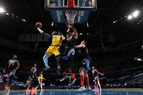 Lakers @ Thunder - 01.13.21