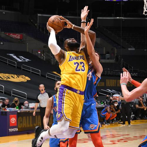 Lakers vs. Thunder - 02.10.21